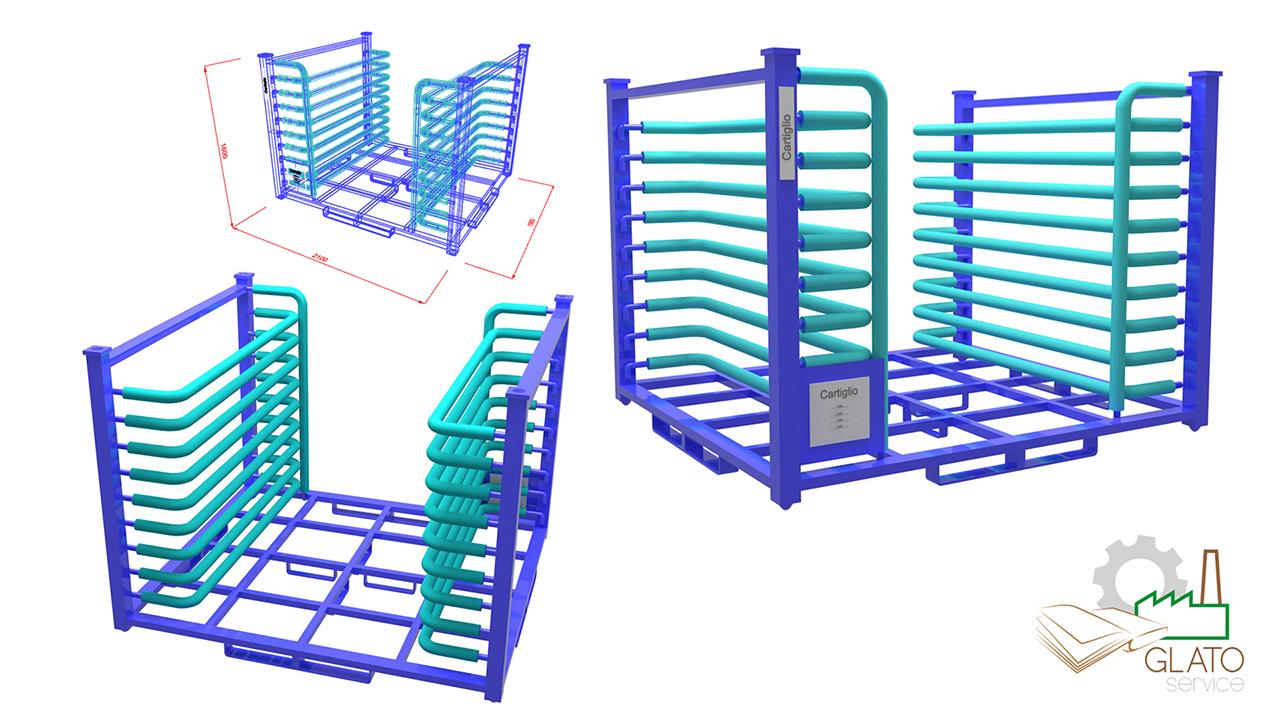 GLATOservice - 3D design