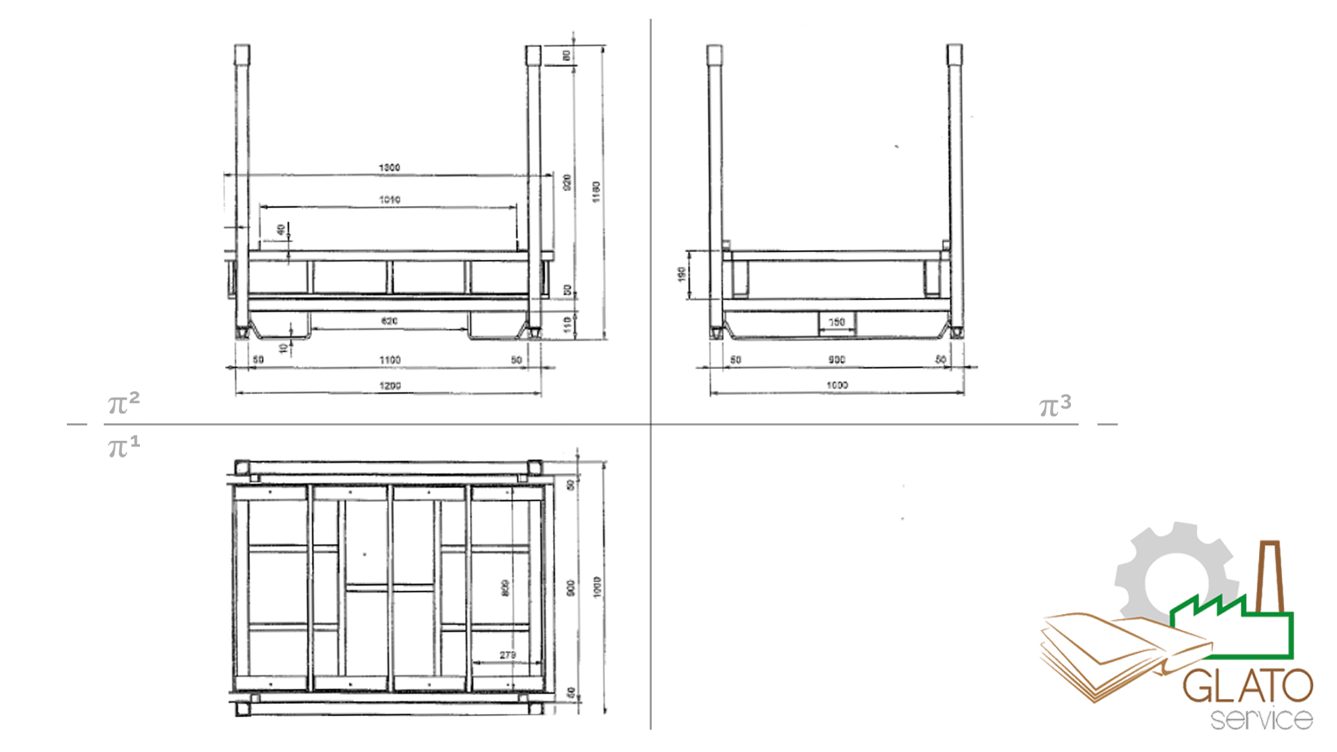 GLATOservice - orthogonal designg
