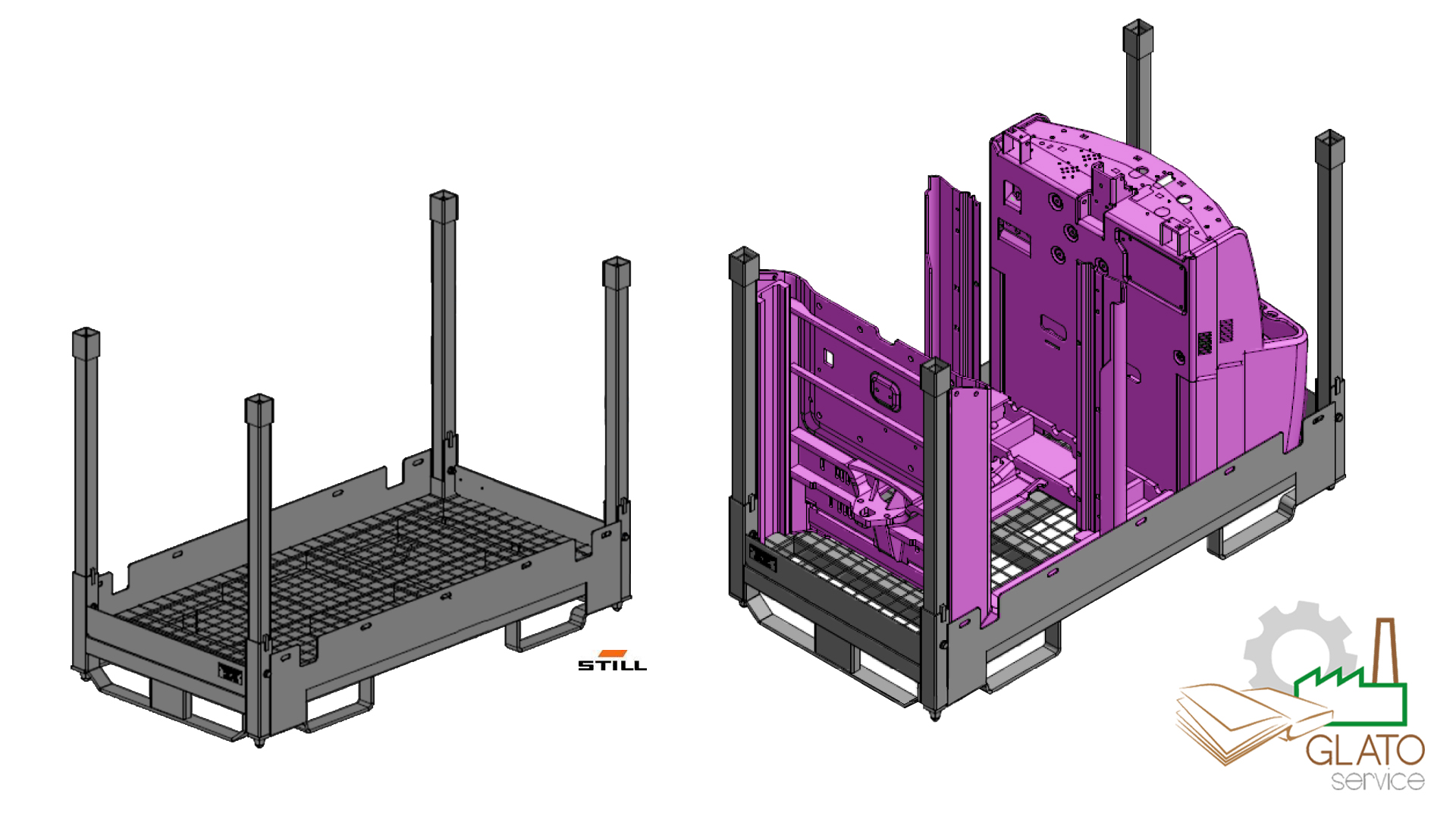 Progetto 3D-color (GLATOservice for STILL Chassis)