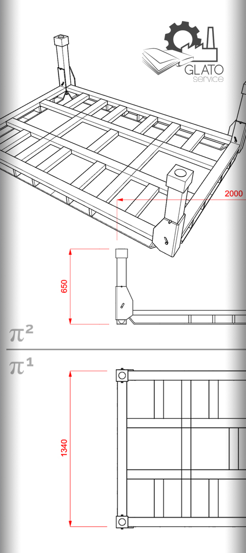 Contenitori metallici specifici - GLATO-service for ADLER-EVO