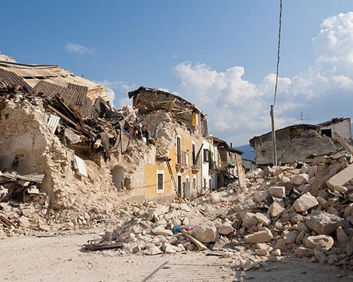 Glato per terremoto-Amatrice_